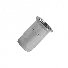 blind rivet nut - steel zinc plated - countersunk head 90°