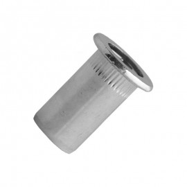 blind rivet nut closed end - steel zinc plated - cylindrical head