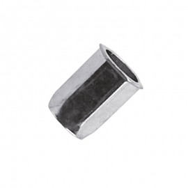 blind rivet nut - Hexagon body - steel zinc plated - reduced head 90°