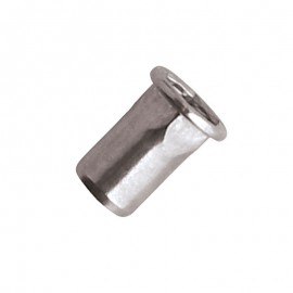 blind rivet nut - Hexagon body - stainless steel A2 - cylindrical head