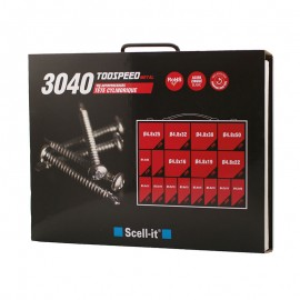 assorted kit of 3040 self-drilling screws
