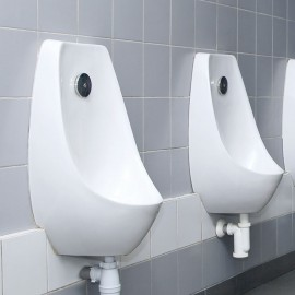 for fixing urinals onto solid materials