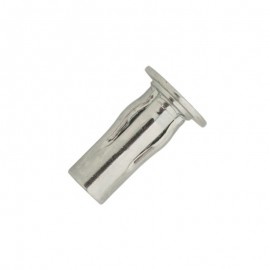 slotted multi grip nut - zinc plated steel - flanged head
