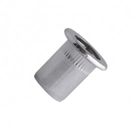 blind rivet nut - steel zinc plated - cylindrical head