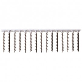 Collated screws for plasterboard