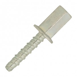 Double thread screw - concrete- female