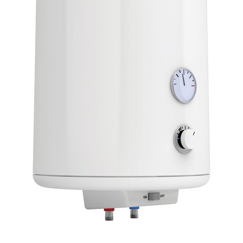Fixation chauffe-eau sur isolant
