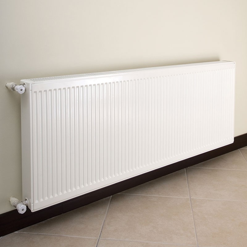 for fixing radiators onto insulation