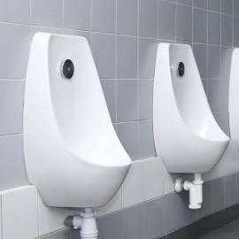 Fixation urinoir matériaux pleins