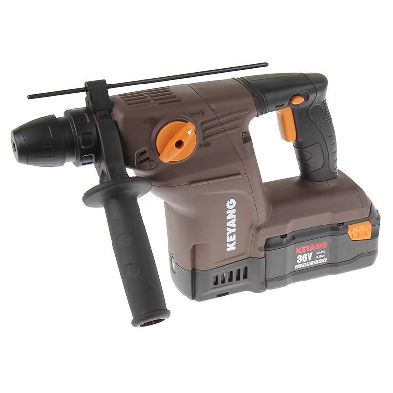 Perfo-burineur industriel sur batterie 36V