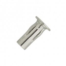 slotted multi grip nut - zinc plated steel - flanged head