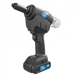 Riveteuse sur batterie connectée pour rivet aveugle ø2,4 à 5,0mm
