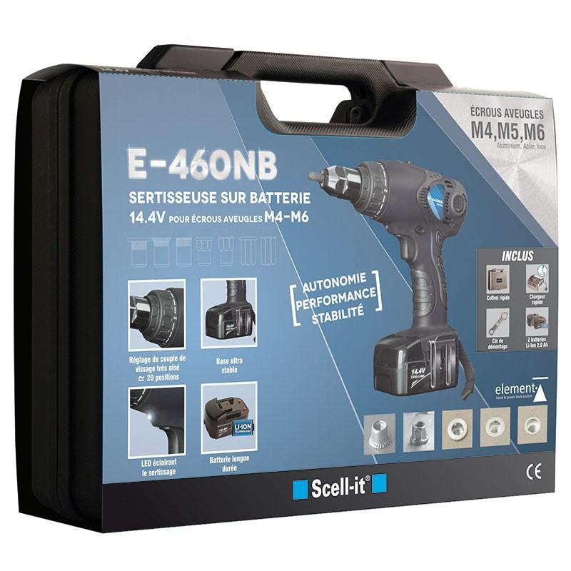 battery for blind rivet nut M4 to M6
