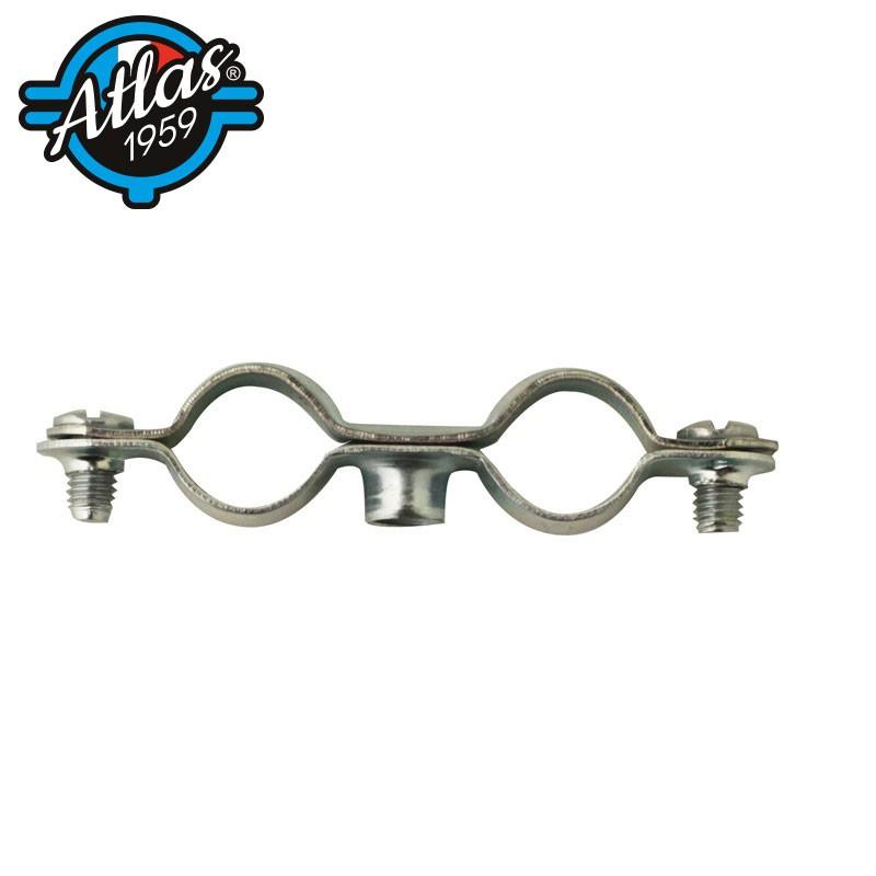 standard double pipe clip