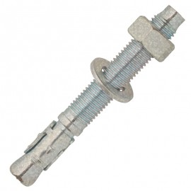 Throughbolt anchor - hot deep galvanized-